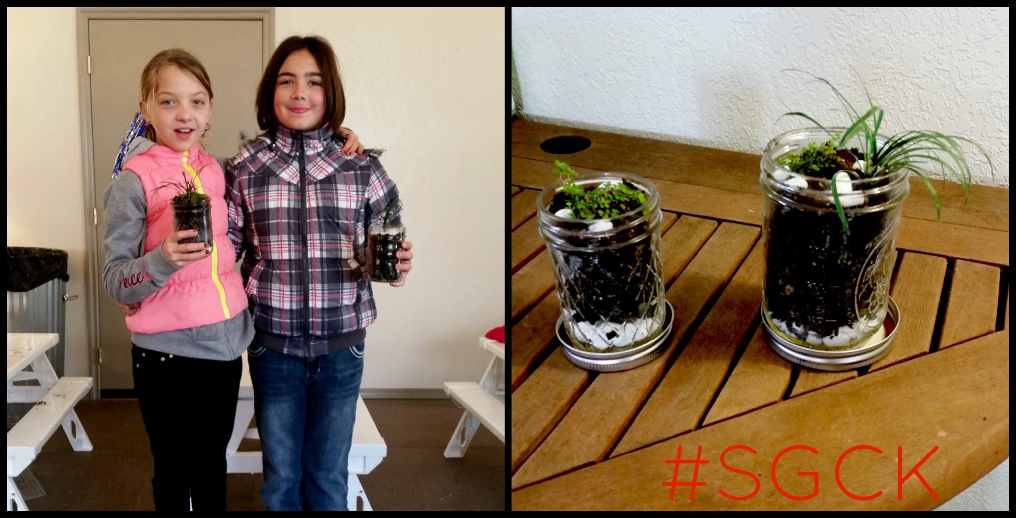 Seedlings Garden Club For Kids Mason Jar Terrariums Johnson Brothers