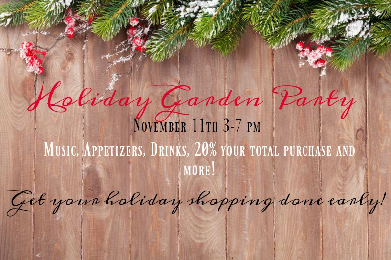 holiday garden partypromot1